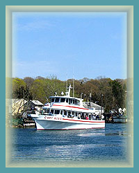 Charter a boat, walk the marinas or dine on fresh area seafood