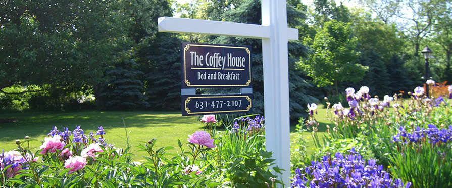 The Coffey House B & B is located on the North Fork of Long Island